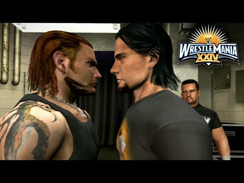 WWE Smackdown vs Raw 2009 - Road To Wrestlemania Ep 1 -