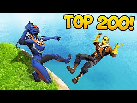 TOP 200 BEST FORTNITE FAILS & MOMENTS EVER