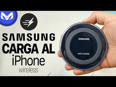 CARGA RAPIDA INALAMBRICA GALAXY S8 PLUS VS IPHONE 8 PLUS