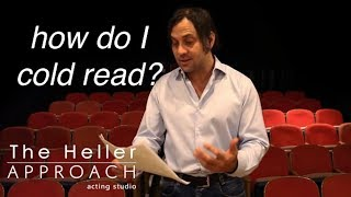 Free Acting Lessons: Cold Reading