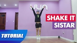 Tutorial Mirror | Dạy nhảy SISTAR - Shake it | Panoma Dance Crew