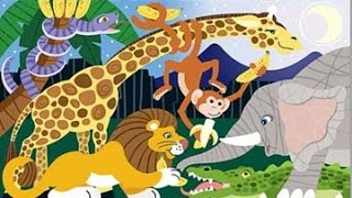 wild animals 2 activity and song for children full Educational video for babies and toddlers