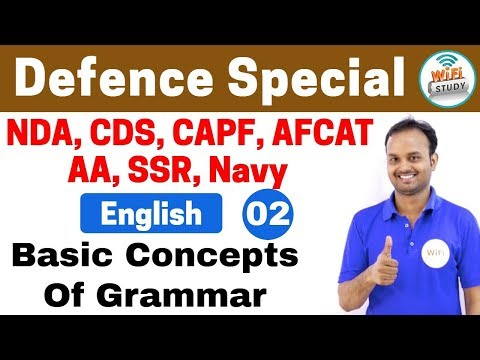 Xxx Mp4 11 00 PM Defence Special English By Sanjeev Sir Day 02 Basic Concepts Of Grammar 3gp Sex