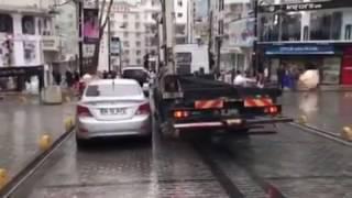Tow truck in Turkey - Karrotrec ne Turqi