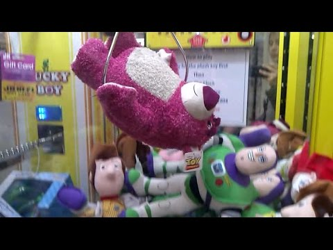 LOTSO TOY STORY 3 WIN A CLAW MACHINE VIDEO 5 YEARS IN THE MAKING