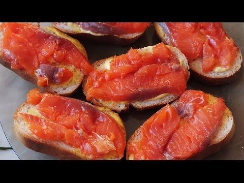 Рецепт засолки красной рыбы кусочками