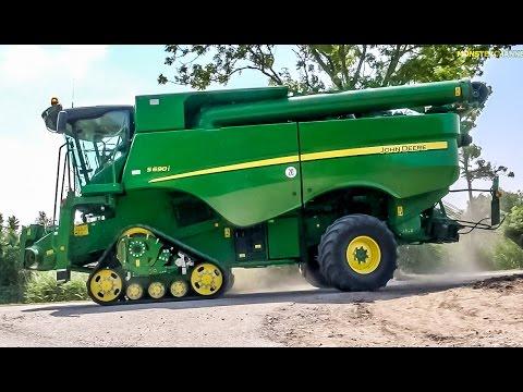 Xxx Mp4 Monster Machine New John Deere Combine Harvester S 690 I At Work 3gp Sex