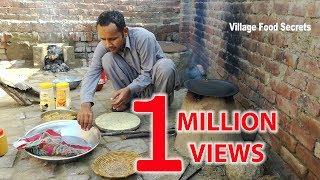 Aloo Paratha | Mirch ka Achar | Grandma Style Cooking | Village Style Cooking | Village Food Secrets