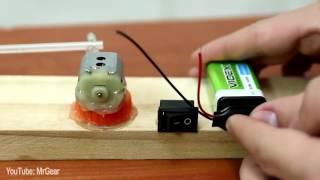 ثلاث اختراعات بسيطة رائعة سهلة الصنع ( صنع مضخة الهواء لحوض السمك صنع قاذف ابر  صنع قاذق المطاط )