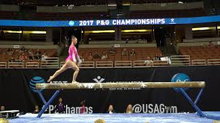 Kara Eaker - Balance Beam - 2017 P&G Championships - Junior Women - Day 1
