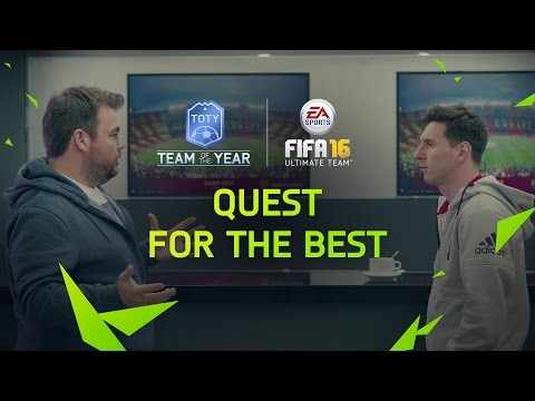 FIFA 16 Ultimate Team Quest for the Best FUT Team of the Year video