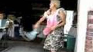 Crazy Drunk Dancing Lady