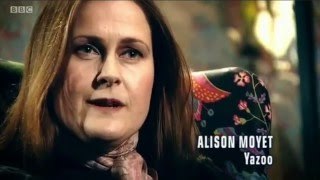 Synth Britannia. Yazoo. Only You. Don't Go. Vince Clarke. Alison Moyet. Interview. BBC Four.