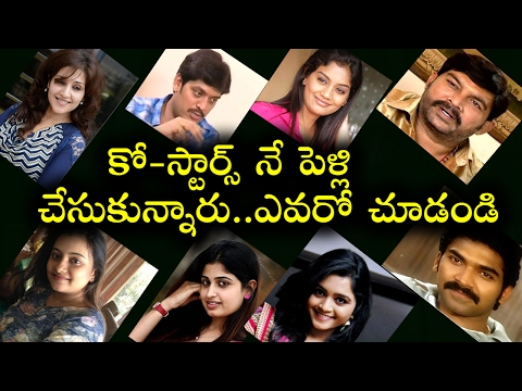 Telugu TV Serial Popular Actors Who Married Their Co-Stars | Tollywood Nagar