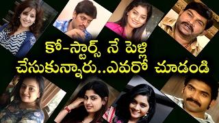 Telugu TV Serial Popular Actors Who Married Their Co-Stars   Tollywood Nagar