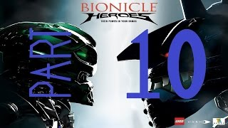 Buzz plays Bionicle Heroes: Part 10: Fenrakk Battle!