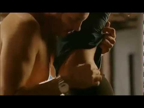 Hot romantic scene from a movie.  Really nice