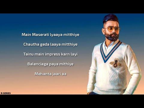 Collar bone (Lyrics) - Amrit Maan | Desi Crew | New Song 2018