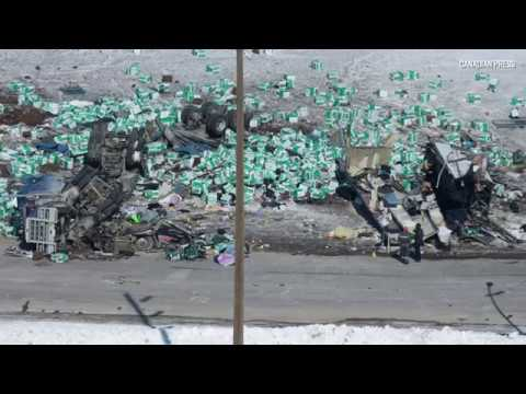 RCMP gives update on investigation into Humboldt Broncos bus crash