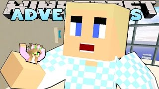 Minecraft - Little Kelly Adventures : SHRUNK AND SWALLOWED WHOLE!