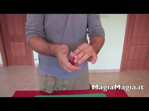 Magia fazzoletto rotto e ricostruito tutorial