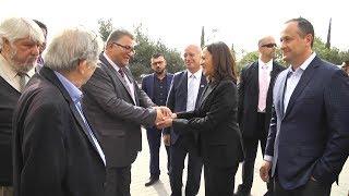 جامعة القدس تستقبل عضوة مجلس الشيوخ  الامريكي  السيناتور كامالا هاريس
