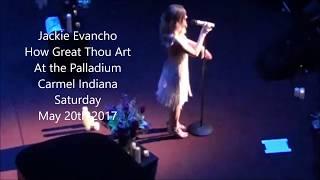 Jackie Evancho - How Great Thou Art Live
