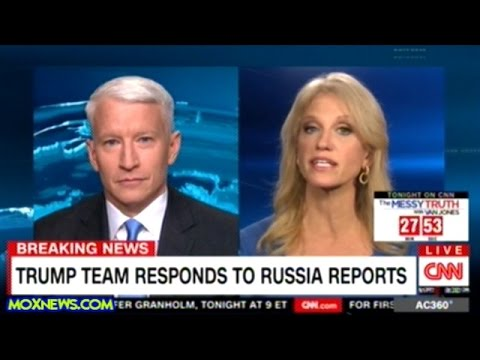 Kellyanne Conway Lays Into FAKE NEWS Anderson Cooper