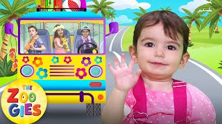 The Wheels On The Bus (Summer Version) | New Nursery Rhymes by Zouzounia TV