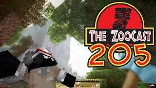 Minecraft Jurassic World (Jurassic Park) ZooCast - #205 Spruce, Fir and Pine, Oh My!