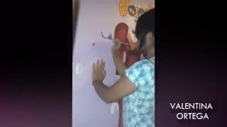 CATRINA! - Mural / 2015 HD / Valentina Ortega