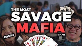 THE MOST SAVAGE MAFIA GAME (ever?) ft. Pokimane, Scarra, LilyPichu, Mendokusaii & more