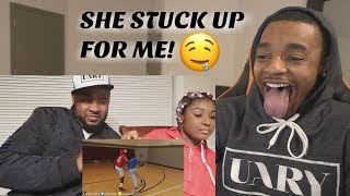 MIGHT HAVE TO GET ON ONE KNEE! Girlfriend Reacts To Boyfriends 1v1 vs SoLLUMINATI With Her Dad!