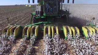 Sam Stanley Cotton harvest 2016. John Deere CS 690. Hockley County Texas