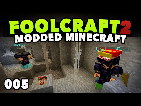 FoolCraft 2 005 | DEATH & DUNGEONS! 💀 | A Minecraft Modded Let's Play