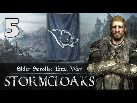 BATTLE FOR WINDHELM - Elder Scrolls: Total War - Stormcloaks Campaign #5