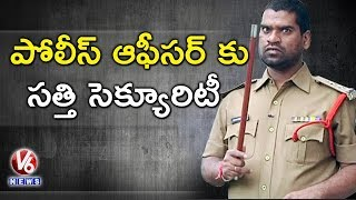 Bithiri Sathi Wants To Protect ED Akun Sabharwal | Drugs Case | Teenmaar News | V6 News