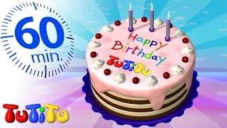 تو تي تو | كعكة عيد ميلاد | لعب مفاجئة أخرى