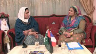 Interview of Rohi Bano by Tahira Sahar on Takbeer Tv