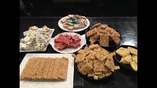 """المطبخ - طريقة عمل """"حلوى المولد -السمسمية"""" على طريقة الشيف أسماء مسلم"""