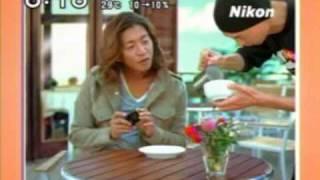 ラテアート 木村拓哉 Nikon TV-CM latte art by Hiroshi Sawada