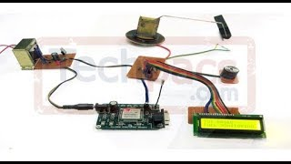IOT & Android Based Automated Fuel Theft Protection System