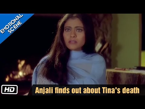 Xxx Mp4 Anjali Finds Out About Tina S Death Kuch Kuch Hota Hai Emotional Scene Kajol Shahrukh Khan 3gp Sex
