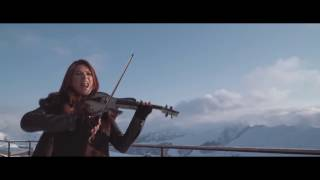AMAZING DUBSTEP VIOLIN official video Yasmine Azaiez 'Neon Balloons'