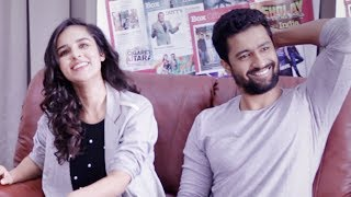 Fun moments with Vicky Kaushal and Angira Dhar | Box Office India | Love Per Square Foot