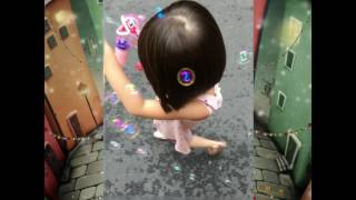 Little girl with bubbles - TIT Channel