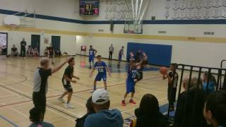Amber Trails vs Acadia in the 2nd round 2017 JHIT Grade 8 provincials