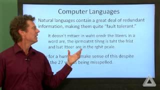 Unit 0 Video 5: Computer Languages