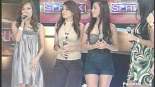 Mocha Girls in Startalk,  Mocha Uson kissing  Krista Ranillio...