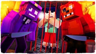 Minecraft - FNAF Prison - PURPLE GUY WANTS TO KILL ME!